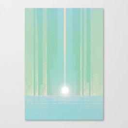 The White Lodge Canvas Print