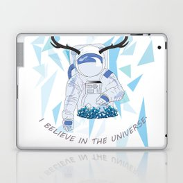 Crystal Astronaut Laptop & iPad Skin