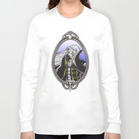 castlevania Long Sleeve T-shirts featuring Dracula's Dhampir by CaptainSunshine