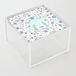 Chanson de la lune bleue Acrylic Box