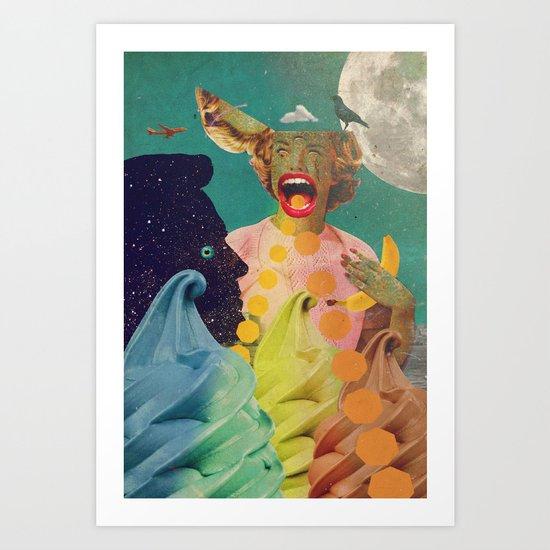 OMGAKAWTF! Art Print