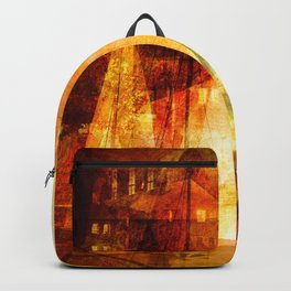 Coming home to harbour Backpack