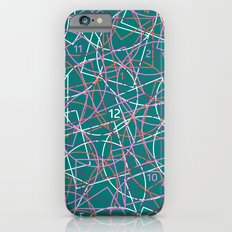 Geometry and math abstract pattern iPhone 6s Slim Case