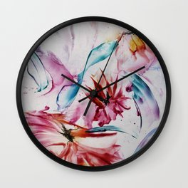 Asters Wall Clock