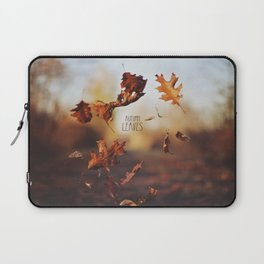 Autumn leaves as quickly as it arrives. Laptop Sleeve