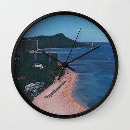 In The Sky Over Hawaii Wall Clock