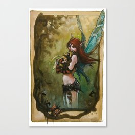 Baby Bee Canvas Print