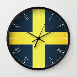 Flag of Saint David Of Wales Wall Clock