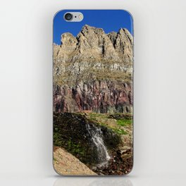 Clements Mountain Glacier National Park Nature Photography LCApplingPhotoArt iPhone Skin