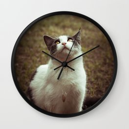 Kitty 03 Wall Clock