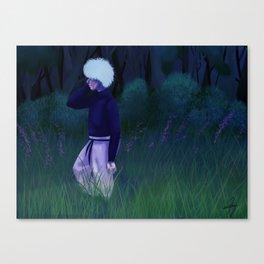 Neo-Green Life Killua Canvas Print