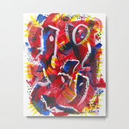 Acrylic Painting - Abstract 3 Metal Print