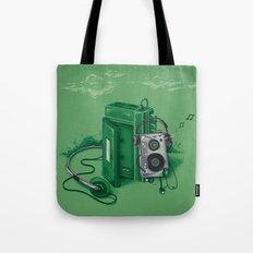 Music Break Tote Bag