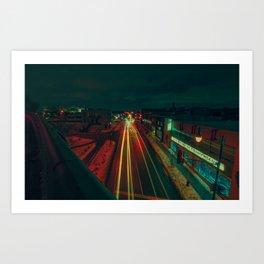 MTL MOTION Art Print
