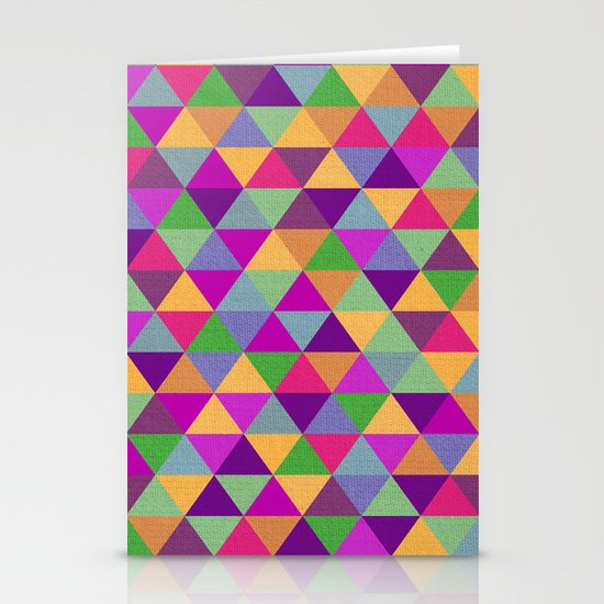 In Love with ▲ Stationery Cards