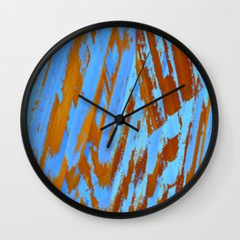 landscape collage #20 Wall Clock
