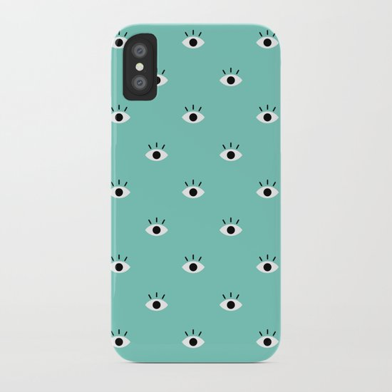 Blue Vision iPhone Case