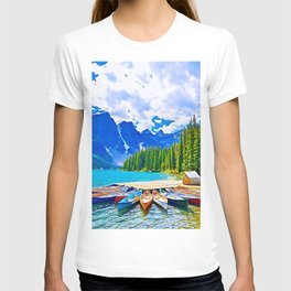 Lake in switzerland T-shirt