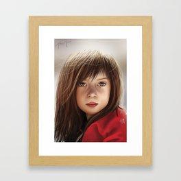 Maisie Framed Art Print