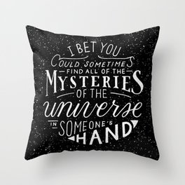 All of the Mysteries of the Universe Throw Pillow
