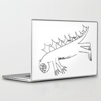 dino Laptop & iPad Skins featuring Dino by landon zobel
