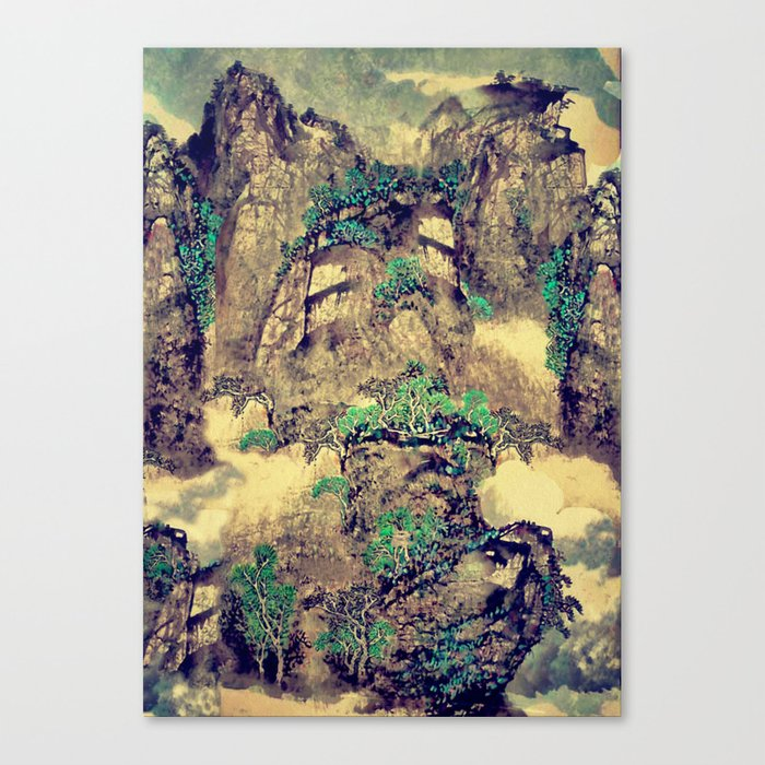 The Hills of Yunnan Canvas Print