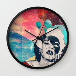 Don't let the bastards let you down Wall Clock