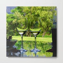 Wine tasting Metal Print
