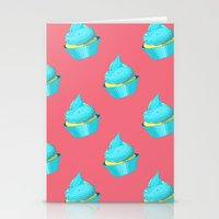 cupcake Stationery Cards featuring Cupcake by tiffato3