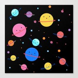 Hula Universe Canvas Print
