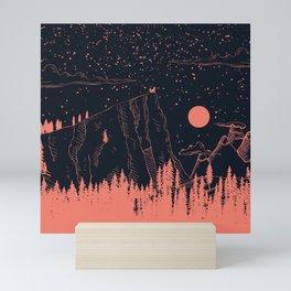 One Red Fox Mini Art Print