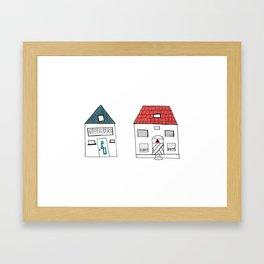 Neighbors Framed Art Print