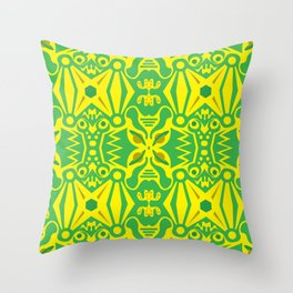 space_frog Throw Pillow