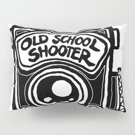 Analog Film Camera Medium Format Photography Shooter Pillow Sham