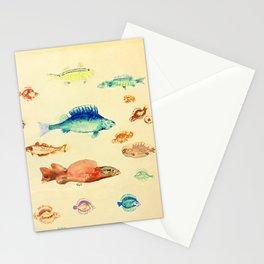 "Odilon Redon ""Fishes (Poissons)"" Stationery Cards"