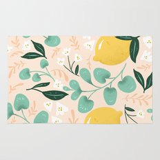 Lemon Party Rug