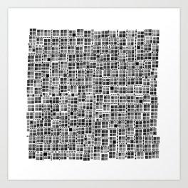 Pixel  Fashion 04 Art Print