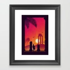Fading Empire Framed Art Print