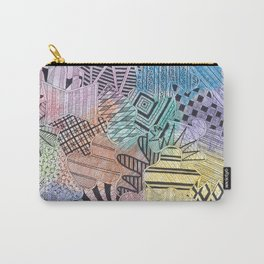 Organized Chaos - Rainbow Carry-All Pouch