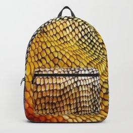 Iguana Skin Backpack