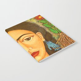 My homage to Frida Notebook