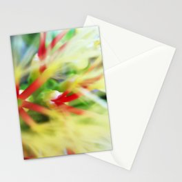 Floral beauty magnified - one Stationery Cards
