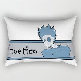 contemplating Rectangular Pillow