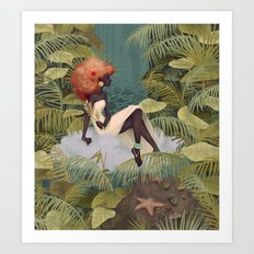 Tranquil Reflections Art Print