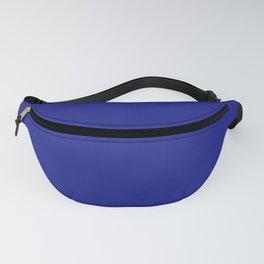 Solid Dark Blue Fanny Pack
