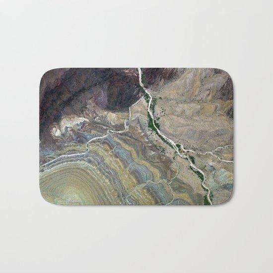 Grand Canyon bird's eye view #3 Bath Mat