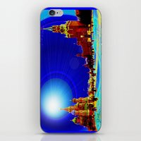 moscow iPhone & iPod Skins featuring Moscow by JT Digital Art