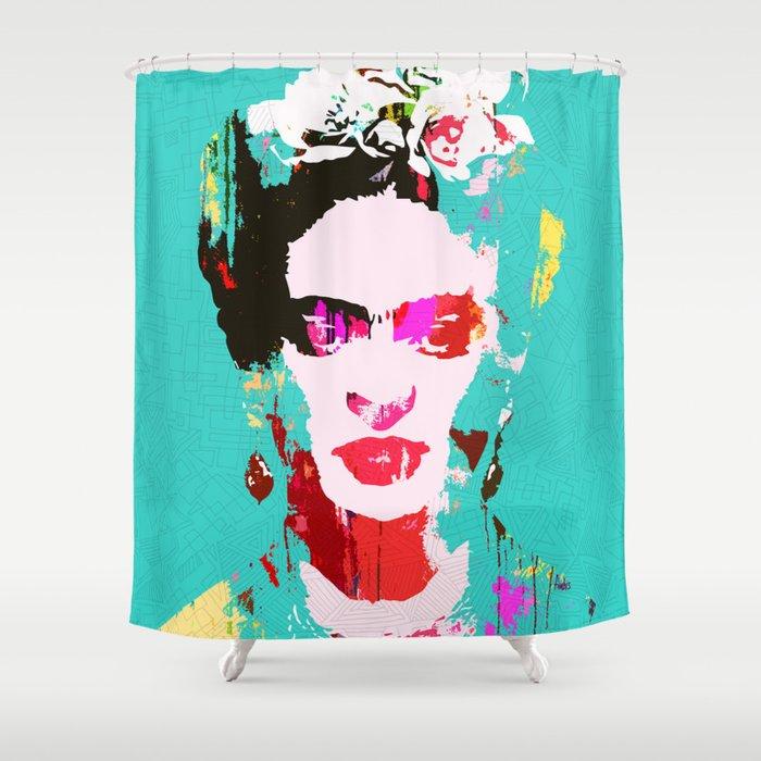 Frida Kahlo Shower Curtain By Fimbis