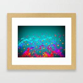 Faerie Garden Vignette | Flower | Flowers | Framed Art Print
