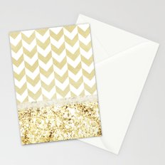 GOLDEN FASHION DREAM - for iphone Stationery Cards